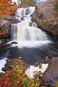 8 Mile Prints - Falls in Fall Print by Bryan Bzdula