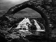 Bedrock Framed Prints - Falls Framed Print by Jack Zulli