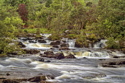 Jason Politte Prints - Falls of Dochart - Killin Scotland Print by Jason Politte