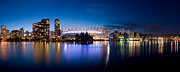 Vancouver Photos - False Creek At Dusk by Terry Elniski