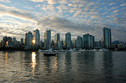 David Cabana - False Creek Sunset