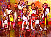 V.d. Gleisberg Mixed Media - Family Reunion by Dean Gleisberg