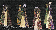 Couple Tapestries - Textiles - Family Traditions by Ruth Ash