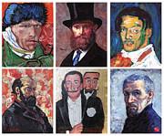 Tom Roderick - Famous Artist Self Portraits