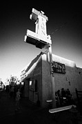Pawn Posters - famous gold and silver pawn shop downtown Las Vegas home to the tv series pawn stars Nevada USA Poster by Joe Fox
