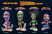 Monsters Sculptures - FAMOUS MONSTERS Resin kit by Geoff Greene