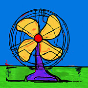 Antique Fan Prints - Fan Of Color Print by Dale Moses