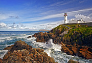 Crash Art - Fanad Lighthouse Ireland by Marcia Colelli