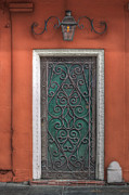 Old Door Photos - Fancy by Brenda Bryant