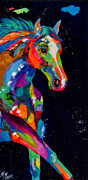 Horses In Art Prints - Fanfare Print by Tracy Miller