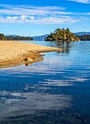 Jamie Pham - Fannette Island on Lake Tahoe.