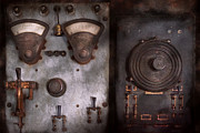 Metal Art Abstraction Photography Posters - Fantasy - A tribute to Steampunk Poster by Mike Savad