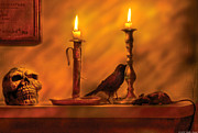 Halloween Art - Fantasy - In a Wizards House by Mike Savad