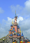 Disneyland Park Photos - Fantasy Palace at Eurodisney  by Amir Paz