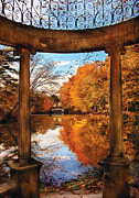 Autumn Scenes Framed Prints - Fantasy - Paradise waits Framed Print by Mike Savad