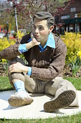 Allen Beatty Art - Far Out by J. Seward Johnson Jr. by Allen Beatty