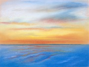 Waters Pastels - Farewell Florida by MM Anderson