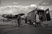 Lancaster Bomber Prints - Farewell Print by Jason Green