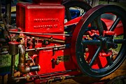 Grain Mill Prints - Farm Equipment - International Harvester Feed and Cob Mill Print by Paul Ward