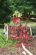 Featured Originals - Farm Equipment by Michelle Densmore