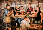 Judging Prints - Farm - Farmer - By the pound Print by Mike Savad