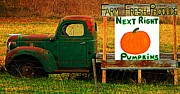 Autumn Decorations Posters - Farm Fresh Poster by Chris Berry