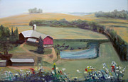 Randy Bell - Farm From the Hilltop
