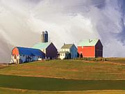 Dominic Piperata - Farm in Autumn