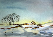 Farm In N.e Yorkshire Print by Jean Walker