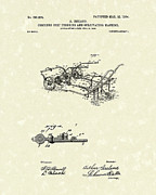 Ireland Drawings - Farm Tool 1904 Patent Art by Prior Art Design