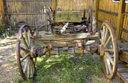 Farm Wagon Framed Prints - Farm Wagon Framed Print by David Bearden