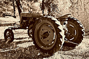 Harvest Art Prints - Farmall 4 Print by Cheryl Young