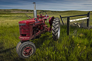 Randall Nyhof - Farmall Tractor model H on the Prairie