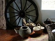 Baskets Photo Originals - Farmers Decor by Hugh Peralta