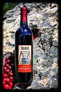 Winery Photography Posters - Farmers Ditch Red Poster by Bob Hislop