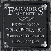 Farmers Market Print by Debbie DeWitt