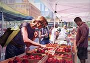 Farmer's Market Print by Isabella Kung