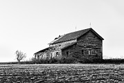 Gary Heller Metal Prints - farmhouse in spring - Old Barns Metal Print by Gary Heller