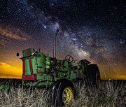 Light Pollution Framed Prints - Farming the Rift 2 Framed Print by Aaron J Groen
