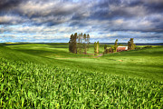 Farmstead Print by Reflective Moments  Photography and Digital Art Images