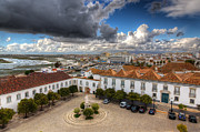 Rio Formosa Prints - Faro City Print by Nigel Hamer