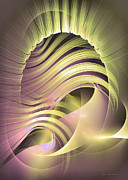 Curves Digital Art Originals - Fascinatio lucis by Sipo Liimatainen