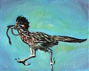 Roadrunner Paintings - Fast Food by Kristy Tracy