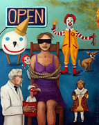 Leah Saulnier The Painting Maniac - Fast Food Nightmare 3