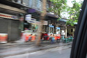 Motion Photo Prints - Fast Paced City Life - Bangkok Thailand - 01132 Print by DC Photographer
