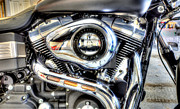 Harley Davidson Photo Originals - Fat Bob by Rob Andrus