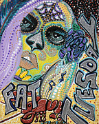 Mardi Gras Painting Prints - Fat Tuesday Print by Laura Barbosa