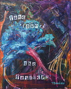 Tree Roots Paintings - Fate and Fear by TMGand