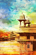 National Painting Posters - Fatehpur Sikri Poster by Catf