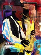 Fathead Newman 2006 Print by Everett Spruill